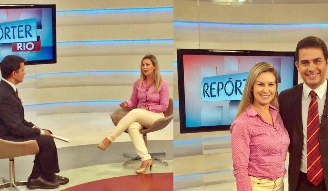 Entrevista para o programa Repórter Rio – TV Brasil – Estresse